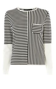 Karen Millen Essential Stripe Jumpers