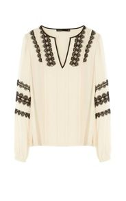 Karen Millen Billowy Sleeve Blouse