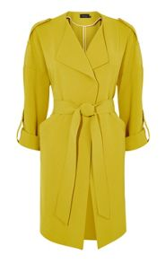 Karen Millen Soft Belted Trench Coat