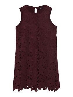 Vintage Lace Knitted Dress