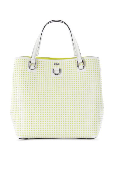 Karen Millen Perforated Mini-Bucket Bag
