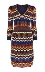 Karen Millen Zig Zag Knit Dress
