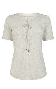 Karen Millen Lace-Up T-Shirt