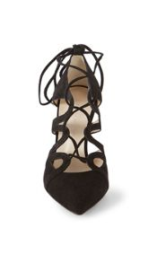 Karen Millen Suede Lace-Up Pump