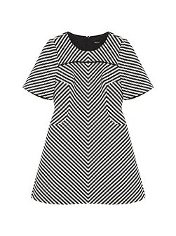Modern Zig Zag Dress