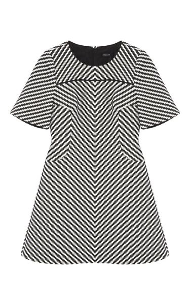 Karen Millen Modern Zig Zag Dress