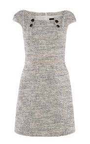 Karen Millen Graphic Tweed Dress