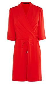 Karen Millen Red Playsuit