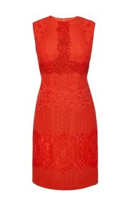 Karen Millen Lace On Lace Dress