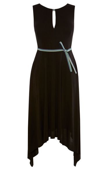 Karen Millen Draped Soft Dress