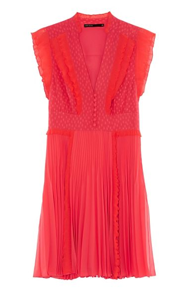 Karen Millen Pleated Dress