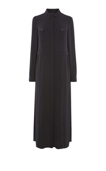 Karen Millen Maxi Shirt Dress