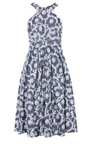 Karen Millen Floral Jacquard Dress