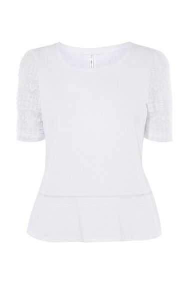 Karen Millen Beautiful Top With Lace