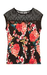 Karen Millen Beautiful Floral Top