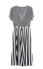 Karen Millen Striped Fluid Dress