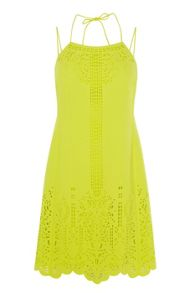 Karen Millen Laser-Cutwork Dress
