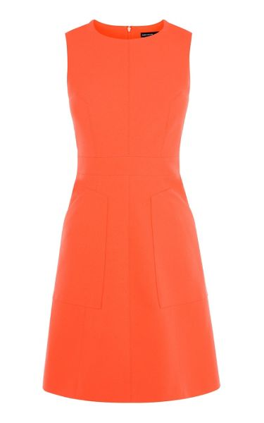Karen Millen Crepe Shift Dress