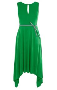 Karen Millen Fluid Green Dress