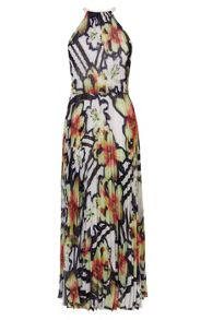 Karen Millen Printed Maxi Dress