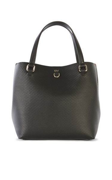 Karen Millen Square Embossed Bucket Bag