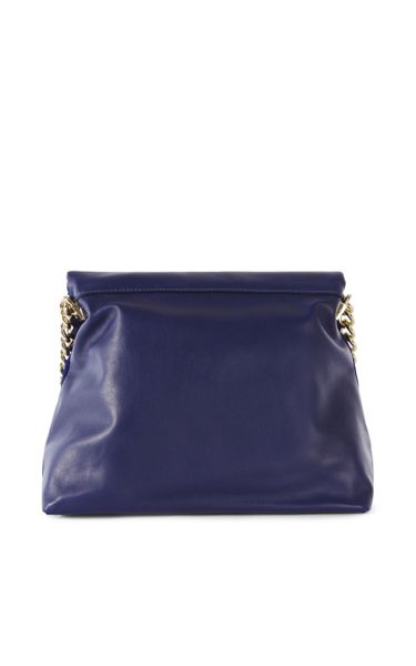 Karen Millen Regent Suede And Leather Bag