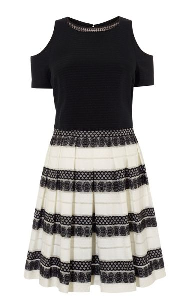 Karen Millen Devore Stripe Dress