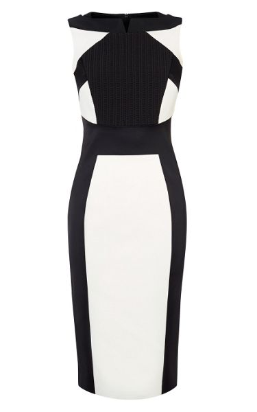 Karen Millen Monochrome Pencil Dress