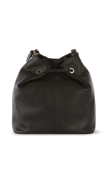 Karen Millen Zip Bucket Bag
