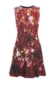 Karen Millen Fire Flower Dress