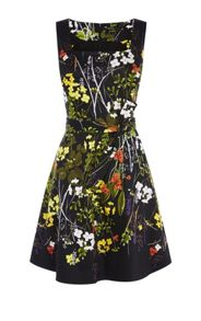 Karen Millen Floral Flared Dress