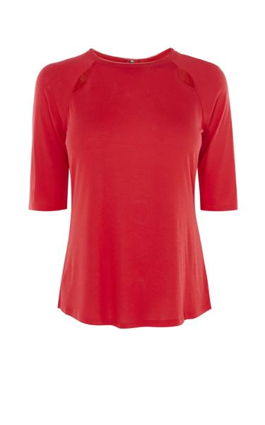 Karen Millen Tiny Cut-Out Top