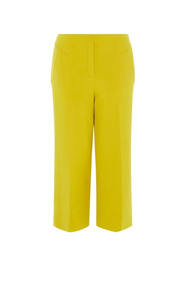 Karen Millen Cropped Wide-Leg Trousers