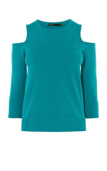 Karen Millen Cutout Shoulder Jumper