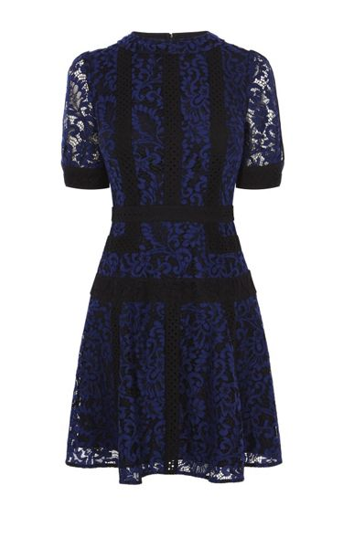 Karen Millen Lace Panel Dress