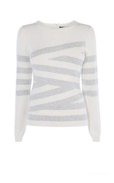 Karen Millen Crosshatch Jumper