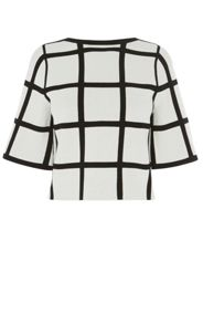 Karen Millen Check Top