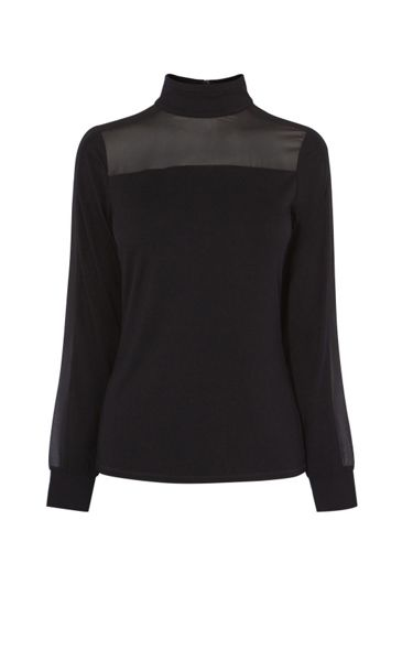 Karen Millen Turtle Neck Blouse