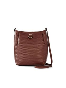 Embossed Square Bag