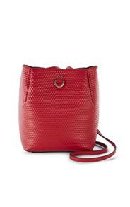 Karen Millen Embossed Square Bag