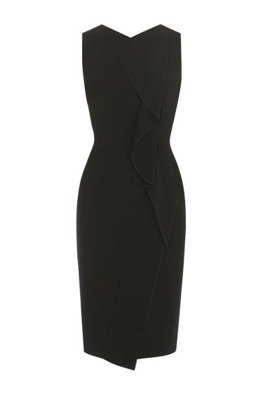 Karen Millen Subtle Ruffle Dress