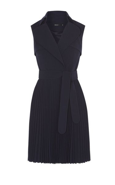 Karen Millen Pleated Trench Dress