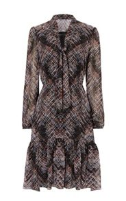 Karen Millen Plaid Dress