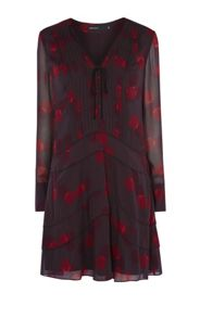 Karen Millen Geo-Print Shirt Dress