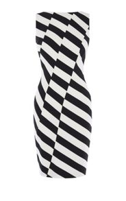 Karen Millen Barcode Dress