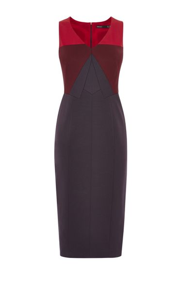 Karen Millen Colourblock Pencil Dress