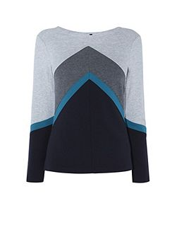 Colour-Block Top