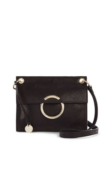 Karen Millen O Ring Shoulder Bag