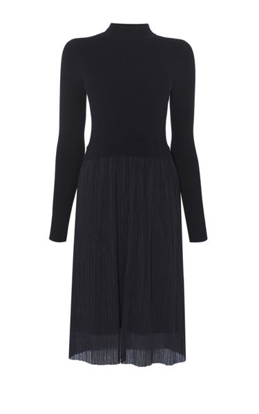 Karen Millen Pleat-Skirt Dress