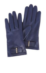 Karen Millen Leather Bow Glove